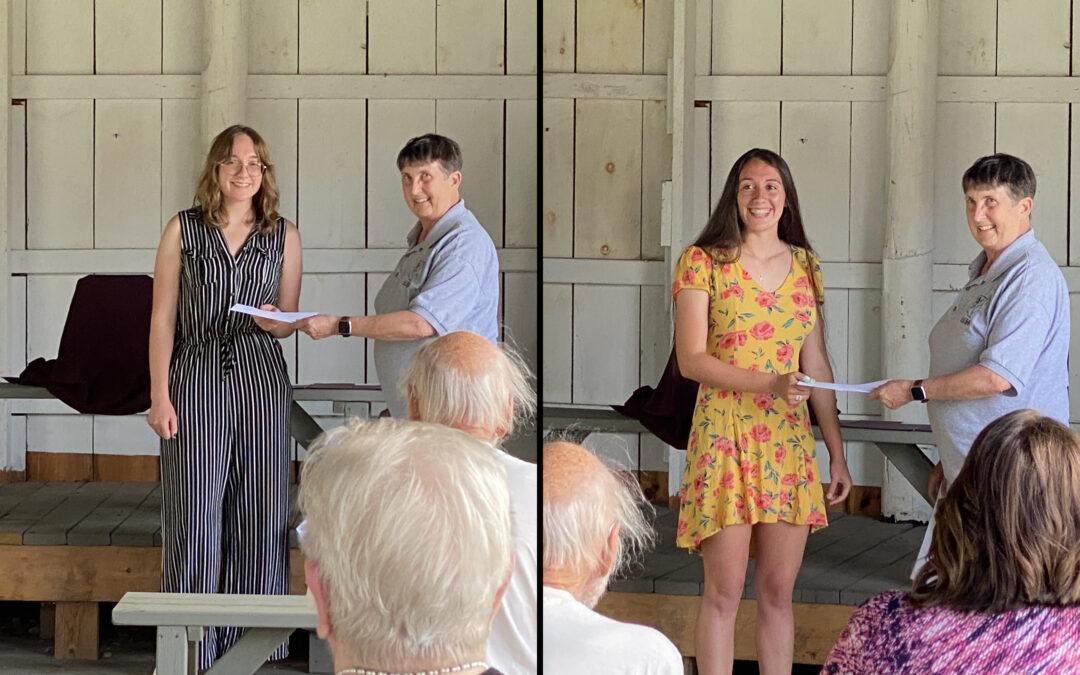 CCHS Announces Troicke Memorial Scholarship Recipients